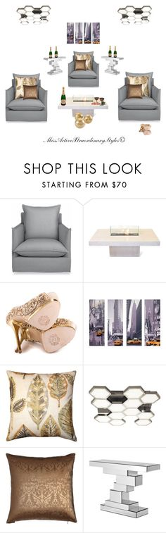 """""""Theater Room 🎦"""" by missactive-xtraordinary ❤ liked on Polyvore featuring interior, interiors, interior design, home, home decor, interior decorating, Seasonal Living, ZiGi Black Label, TAXI and Pillow Decor"""