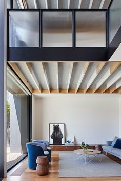 Fawkner House by Workshop Architects – Project Feature Workshop Architecture, Interior Architecture, Bill Gates's House, Small Modern Cabin, Rustic Gallery Wall, Residential Interior Design, Victorian Homes, Room Interior, Architects