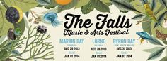 Just announced, this year the Falls Music and Arts Festival will be held in 3 places: Marion Bay, Lorne & Byron Bay! Here's hoping the organisation is a bit better than last year's event. Check out our review of last year's Lorne festival here: