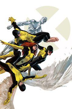 X-Men First Class #1 cover art by Marko Djurdjević