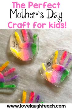 What is more precious than a tiny hand Your students will LOVE making these hand print key chains and their Mothers will LOVE receiving them! Before doing this project, I had no idea how many fun w is part of Mothers day crafts for kids - Mothers Day Crafts For Kids, Crafts For Kids To Make, Mothers Day Cards, Craft Kids, Kids Fun, Fun Projects For Kids, Cool Kids Crafts, Easy Toddler Crafts, Craft Ideas For Girls