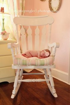 adorable picture, and easy to have done right in the baby's nursery