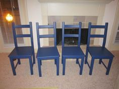 Tips for painting Ikea chairs