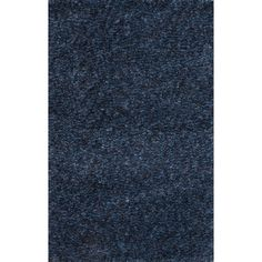 Jaipur Rugs Shag Solid Pattern Blue Polyester Area Rug CAA05 (Rectangle)