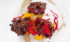 Receta de Arroz frito con menta y chocolate #vegan