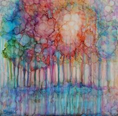 """liquid sunshine"" - Original Fine Art for Sale - © Vicki Wood"
