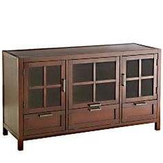 TV stand with storage needed for our safe house living area :)