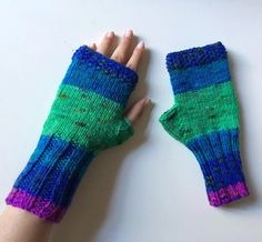 Knit Fingerless gloves, Knitted Fingerless Mittens, Long Arm Warmers, Hand Warmers, Boho Glove, Wrist Warmers, Winter Accessories by BosphorusBeads on Etsy