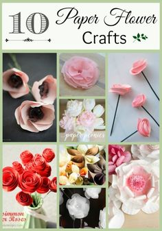 10 DIY Paper Flower