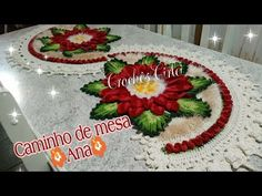 Nubecita Magica, México, Mexico. Log in or sign up to contact Nubecita Magica or find more of your friends. Crochet Bedspread, Crochet Doilies, Crochet Flowers, Crochet Designs, Crochet Table Runner, Crochet Home Decor, Weaving Patterns, Crochet Videos, Embroidery