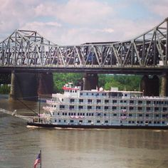 River boat ride on Mississippi River.  Memphis Tennessee.  Go to www.YourTravelVideos.com or just click on photo for home videos and much more on sites like this.