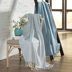 Shop for 100-percent Cotton Picasso Throws (Set of 2). Free Shipping on orders over $45 at Overstock.com - Your Online Blankets