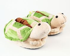 Turtle Slippers - Animal Slippers - BunnySlippers.com