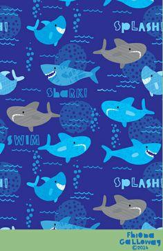 fhiona galloway illustration blog: shark!