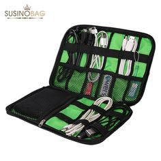 Waterproof electrical cord organizer for usb cables, memory cards, hard drive, adapters, ssd cards, external hard drive, power bank, hygiene organization.