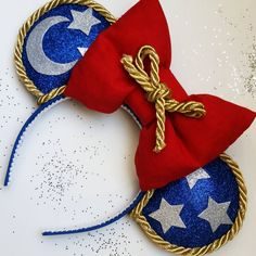 """Sorcerer Mickey"" Fantasia Inspired! Minnie Mouse Disney Ears Source Instagram"