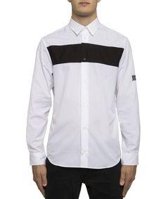 MCQ BY ALEXANDER MCQUEEN Mcq Alexander Mcqueen Men S 450199Rjp259000 White  Cotton Shirt .  mcqbyalexandermcqueen  cloth  dress shirts eaee161763fd