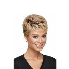 Blonde ombre Wig with bangs, Short hair cuts for curly hair wigs