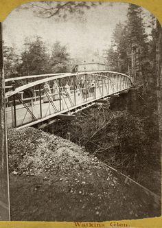 Watkins Glen Watkins Glen, Bridge, Bridge Pattern, Bridges, Attic, Bro