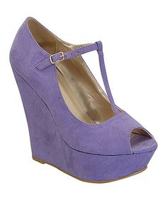 This Orchid Jacky Platform Wedge by I Heart Footwear is perfect! #zulilyfinds