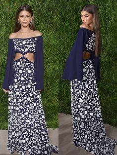 Zendaya brilha no Vogue Fashion Fund Awards