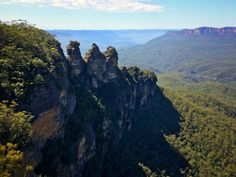 The Three Sisters Blue Mountains Australia [OC] (4032x3024)