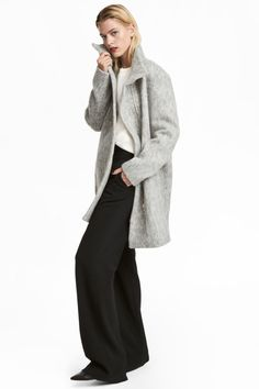 Wool-blend Coat | Light gray | WOMEN | H&M US