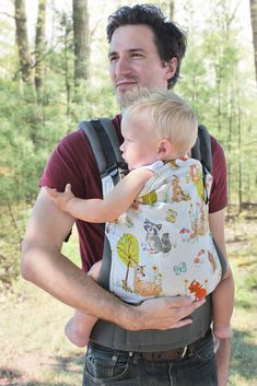 Tula Baby Carrier Exclusive Print Forest Fellows - Standard $149 | Nicki's Diapers #ilovenickisdiapers