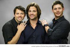 Awkward family photo -- Supernatural Style!