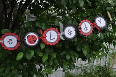Baby Shower Banner or Birthday Banner  Ladybug by sosweetpartyshop, $35.00