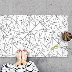 Our stylish geo rug ✨