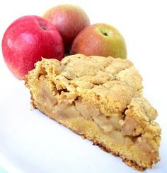 Apple Pie With Thermomix For the Shortcrust Pastry - 300 gr Plain Flour - Pear Recipes, Apple Pie Recipes, Sweet Recipes, Great Desserts, Dessert Recipes, Bellini Recipe, Best Apple Pie, Thermomix Desserts, Shortcrust Pastry