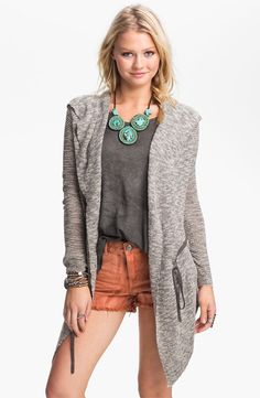 Free People 'For Keeps' Hooded Cardigan - http://womenspin.com/clothing/sweaters/free-people-for-keeps-hooded-cardigan/