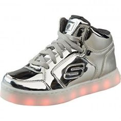Skechers Energy Lights Dance N Dazzle Mädchen silber