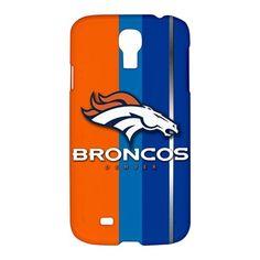 Custom Denver Broncos NFL Samsung Galaxy S4 S IV Hardshell Case Cover - PDA Accessories