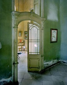 ...elegant French door....