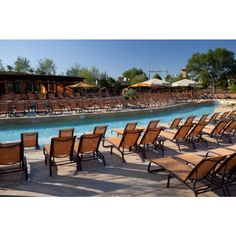 Grab a seat by the lazy river at Gaylord Texan Resort