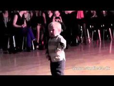 2 Year old kills it on the dance floor - Jailhouse Rock