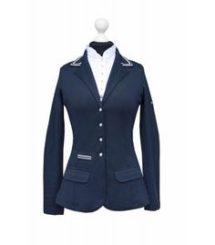 Show Jacket Stripes Navy