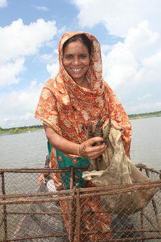 Shrimp Farming in Bangladesh.  Photo: PRICE/Chemonics International, FeedtheFuture via Flickr