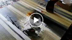 Demonstration of abstract painting using masking tape, palette knife and flat brush in acrylics. Tools : masking tape, flat brush and palette knife Colors : burnt sienna, black, white, vermilion red and golden yellow