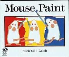 Amazon.com: Mouse Paint (9780152001186): Ellen Stoll Walsh: Books