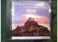 The London Symphony Orchestra Performs the Music of Sting Fortress CD FREE SHIPPING!  $8.99