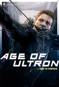 HAWKEYE AVENGERS: AGE OF ULTRON POSTER
