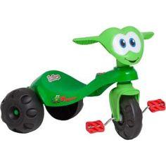 Triciclo Bandeirante Zootico Froggy, um companheiro na diversão da criançada.
