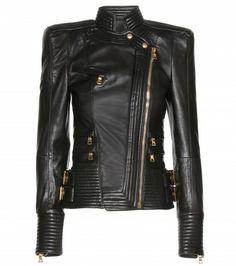 Balmain - Leather jacket
