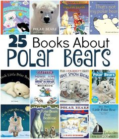25 books about polar bears: board books, picture books, chapter books, and activity books! | http://embarkonthejourney.com