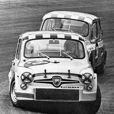 """Zandvoort Trophy 1969, """"Pam"""" en Rob Dijkstra."""
