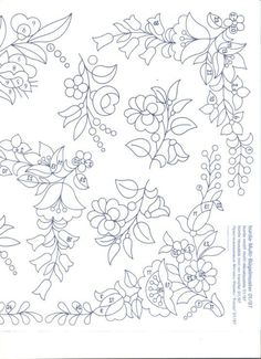 embroidery patterns beginner The Hungarian Braided Stitch (also called the Hungarian Braid Stitch) is similar to a reverse chain stitch or a heavy chain stitch. Chain Stitch Embroidery, Tambour Embroidery, Crewel Embroidery Kits, Floral Embroidery Patterns, Hungarian Embroidery, Brazilian Embroidery, Learn Embroidery, Hand Embroidery Designs, Machine Embroidery