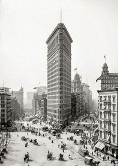 img 5_Daniel Burnham - Flatiron Building (1902) [fonte Shorpy]